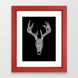 Penglog Ceirw Framed Art Print