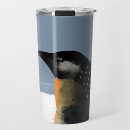 Watercolor Waiting for winter Travel Mug