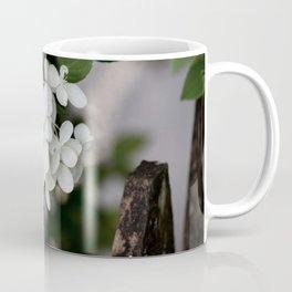 Hydrangea and Old Country Fence Coffee Mug