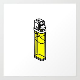 The Best Lighter Art Print