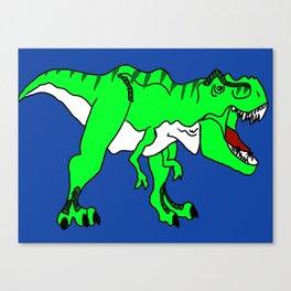 The Terrifying T-Rex Canvas Print
