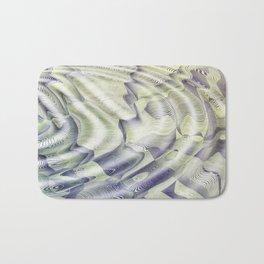 Abstract Water Ripples Bath Mat