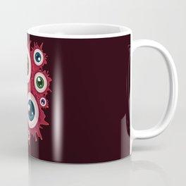 Spooky halloween bloody eyeballs Coffee Mug