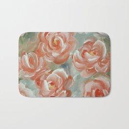 Faded Florals Bath Mat