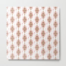 Valentine pattern 2 Metal Print