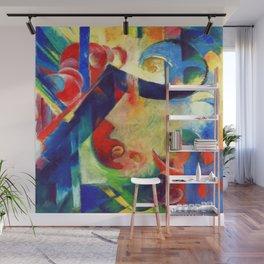 Franz Marc Broken Forms Wall Mural