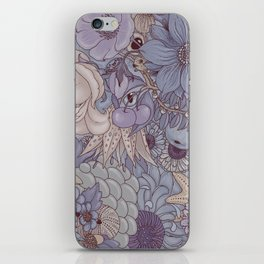 the wild side - icy tones iPhone Skin