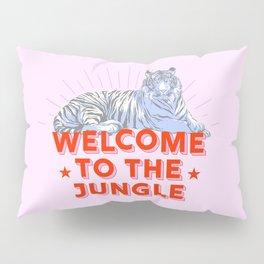 welcome to the jungle - retro tiger Pillow Sham