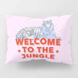 welcome to the jungle - retro tiger Pillow Sham
