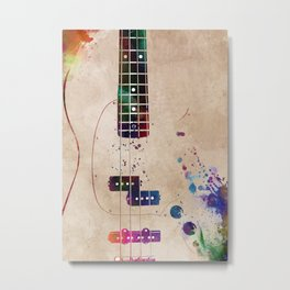 Guitar art 11 #guitar #music Metal Print