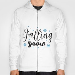 Falling snow Hoody