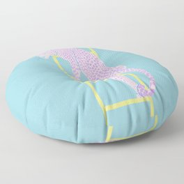AMBITIOUS LEOPARD Floor Pillow