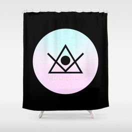 AMDISCS: Futures Reserve Label 2014 Shower Curtain
