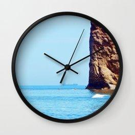 Man and Perce Rock Wall Clock