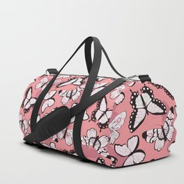 Butterfly pattern 006 Duffle Bag