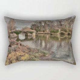Broken Bridge Rectangular Pillow