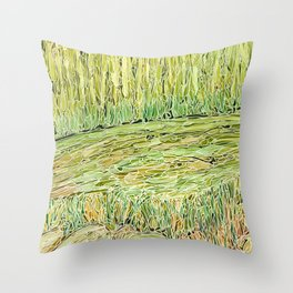 Eno River 29 Throw Pillow