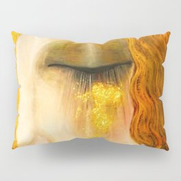 Freya's Golden Tears Viking Lore Pillow Sham