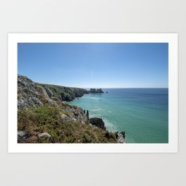 Cornish Paradise Art Print