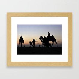 Thar desert, Jaisalmer, Rajsthan Framed Art Print
