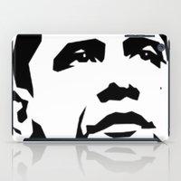 obama iPad Cases featuring barak obama by b & c