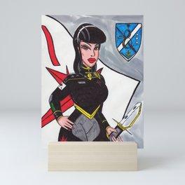 The Admiral Mini Art Print