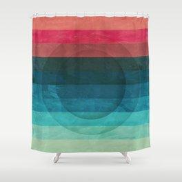 Colors Feels Like We Only Go Backwards - V04 Shower Curtain
