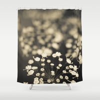 lace Shower Curtains featuring Summer Lace by Olivia Joy StClaire