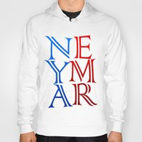 neymar Hoodies featuring Neymar by Sport_Designs