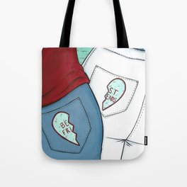 Best Friend Butts Tote Bag