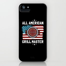 Grill BBQ Grilling Cooking Garden Party Grilled iPhone Case