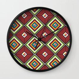 Tribal z Wall Clock