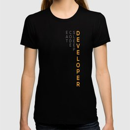 Developer Eat Code Sleep T-shirt