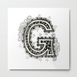 Color Me G Metal Print