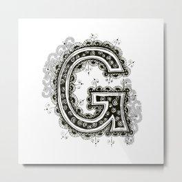 Color Me G Metal Print