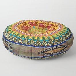 Mandala Epiphaneia Floor Pillow
