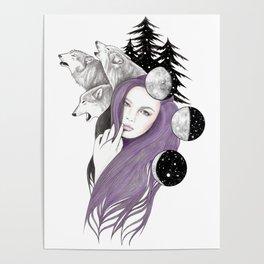 Three Moons Poster