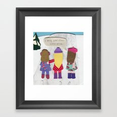 Clear Conscience Framed Art Print