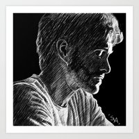 will graham Art Prints featuring Will Graham by Soyarts