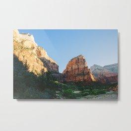 Angels Landing - Zion National Park Metal Print