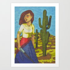 Pearl of Arizona Art Print