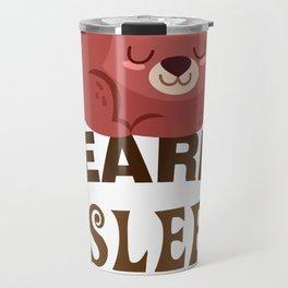 BEARLY ASLEEP Travel Mug