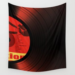 Vinil Movies 2 Wall Tapestry