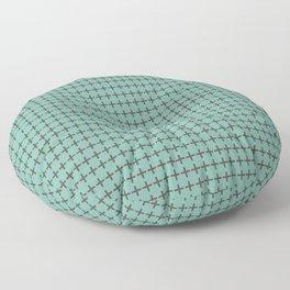 Criss Cross Floor Pillow