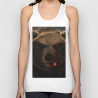 starcraft Tank Tops featuring Smoking Bear by Rookzer0