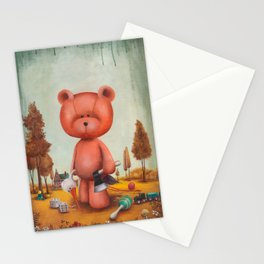 Grumble bear Stationery Cards