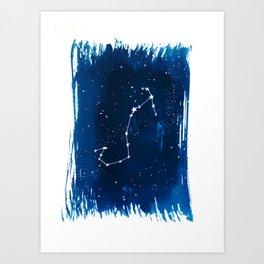 Scorpio Zodiac Print Art Print