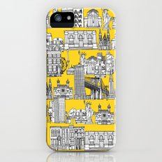New York yellow iPhone (5, 5s) Slim Case