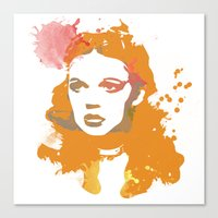 dorothy Canvas Prints featuring Dorothy by BIG Colours
