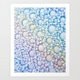 Iridescent Cluster Study Art Print